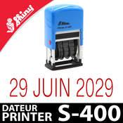 Tampon avec date réglable - Shiny Printer S-400