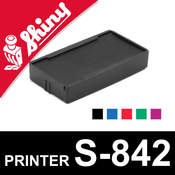 Cassette encrage Shiny Printer S-842