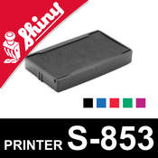 Cassette encrage Shiny Printer S-853