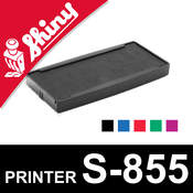 Cassette encrage Shiny Printer S-855