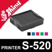 Cassette d'encrage pour Shiny Printer S-520