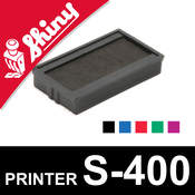 Cassette encrage Shiny Printer S-400