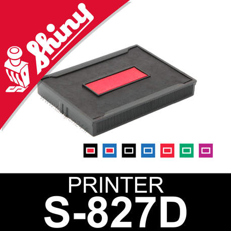 Cassette encrage Shiny Printer S-827D