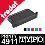 Cassette encrage Trodat Printy 4911 Typo