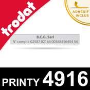 Empreinte pour Trodat Printy 4916