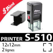 Tampon encreur Shiny Printer S-510