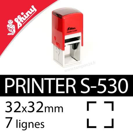 Tampon encreur Shiny Printer S-530