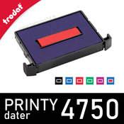 Cassette encrage dateur Trodat Printy 4750