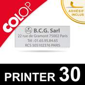 Empreinte pour Colop Printer 30
