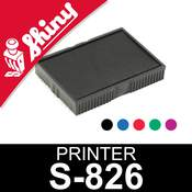 Cassette d'encrage pour Shiny Printer S-826