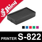 Cassette d'encrage pour Shiny Printer S-822