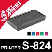 Cassette d'encrage pour Shiny Printer S-824