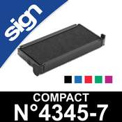 Cassette d'encrage pour Sign Compact n°4345-7