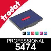 Cassette d'encrage pour dateur Trodat Professional 5474
