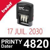 Tampon Trodat Printy Dater 4820 - Dateur réglable